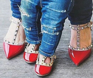 red, shoes, and cute image