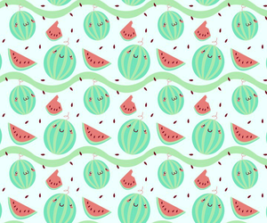green, watermelon, and wallpaper image