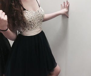 dresses, rip, and fancy image