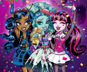 party, draculaura, and monster high image