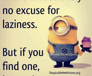 Lazy, minions, and funny image