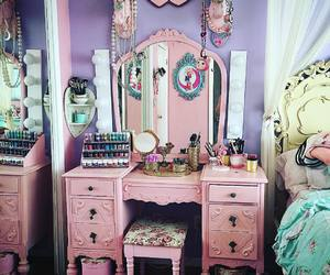 pink, room, and whore image