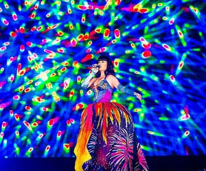 firework, katy perry, and prismatic tour image