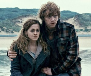 harry potter, hermione granger, and hp7 image