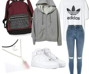 fashion and adidas image
