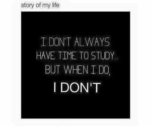 study, funny, and me image