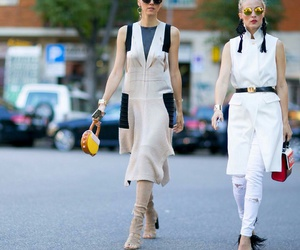 street fashion, street style, and colorblocking image