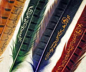 harry potter, hogwarts, and slytherin image