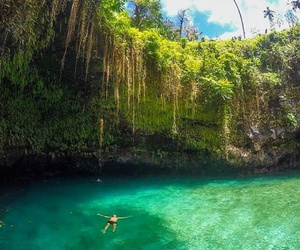 samoa and to sua ocean trench image