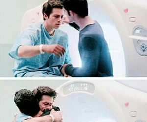 teen wolf, hug, and dylan o'brien image