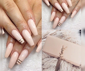 beauty, glamorous, and pretty nails image
