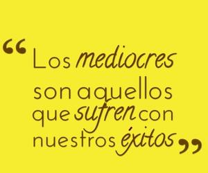 vida, mediocre, and frases español image