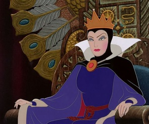 disney, snow white, and evil queen image