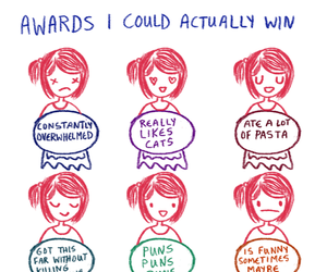 funny, awards, and cats image