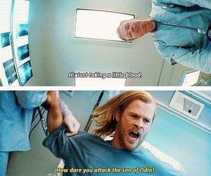 thor, funny, and Marvel image