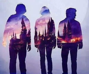 harry potter, hogwarts, and hermione granger image