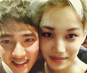 kai, exo, and kaisoo image
