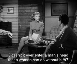 men, quote, and vintage image