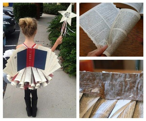 book, fairy, and girl image