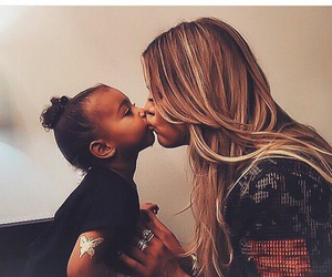 baby, north west, and West image