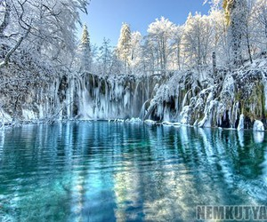 Croatia and plitvice lakes image