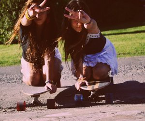 bff, photography, and skate image