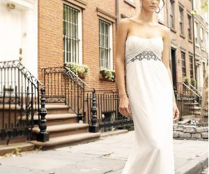 wedding dresses, white dress, and fashion style image