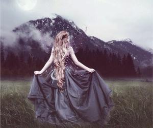 dress, mythical, and girl image