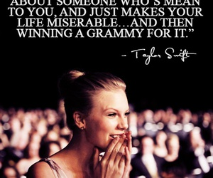 Taylor Swift, quotes, and grammy image