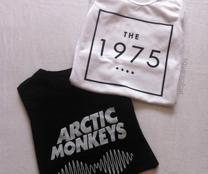 the 1975, arctic monkeys, and grunge image