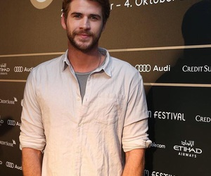 hunger games and liam hemsworth image