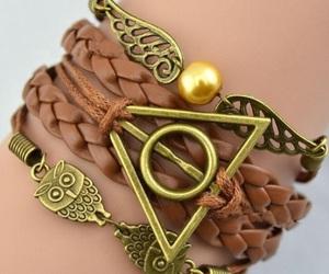 harry potter, bracelet, and owl image
