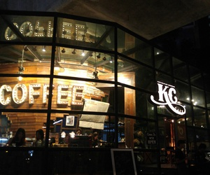 cafe, night, and thailand image