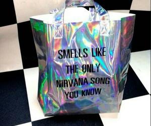 grunge, nirvana, and bag image