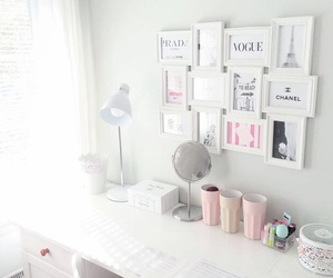 bedroom, chanel, and cup image