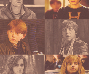 hermione, potter, and Ronald image
