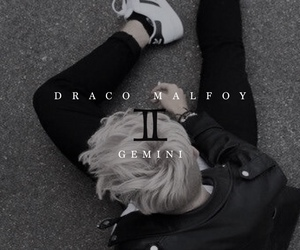 harry potter, hp, and draco malfoy image