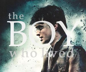 harry potter, the boy who lived, and hp image