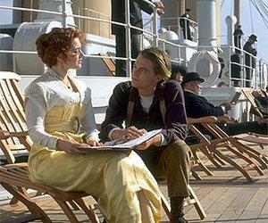 titanic, leonardo dicaprio, and kate winslet image