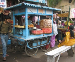 indian, street food, and india image
