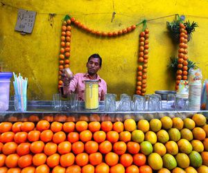 india, indian, and street food image
