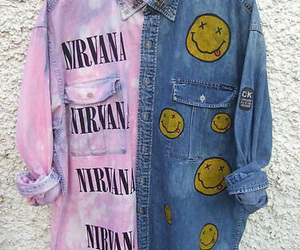 nirvana, grunge, and clothes image