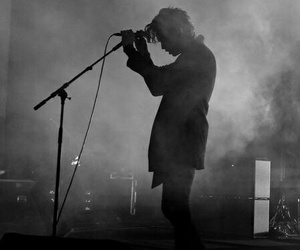 b&w, music, and the 1975 image