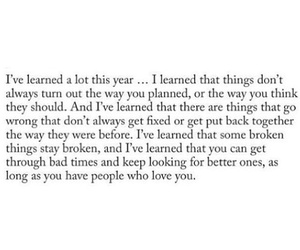 broken, quote, and life image