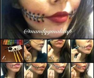 diy, make up, and Halloween image