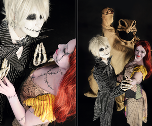 cosplay, jack, and sally image