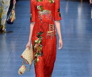 runway and dolce&gabbana image