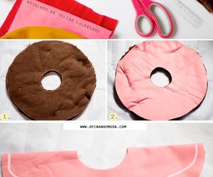 diy, donuts, and pillow image