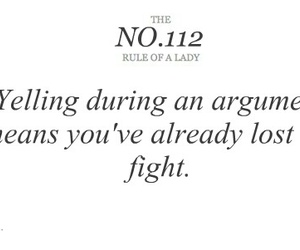 lady, quote, and argument image