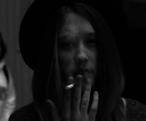 american horror story, violet harmon, and smoke image